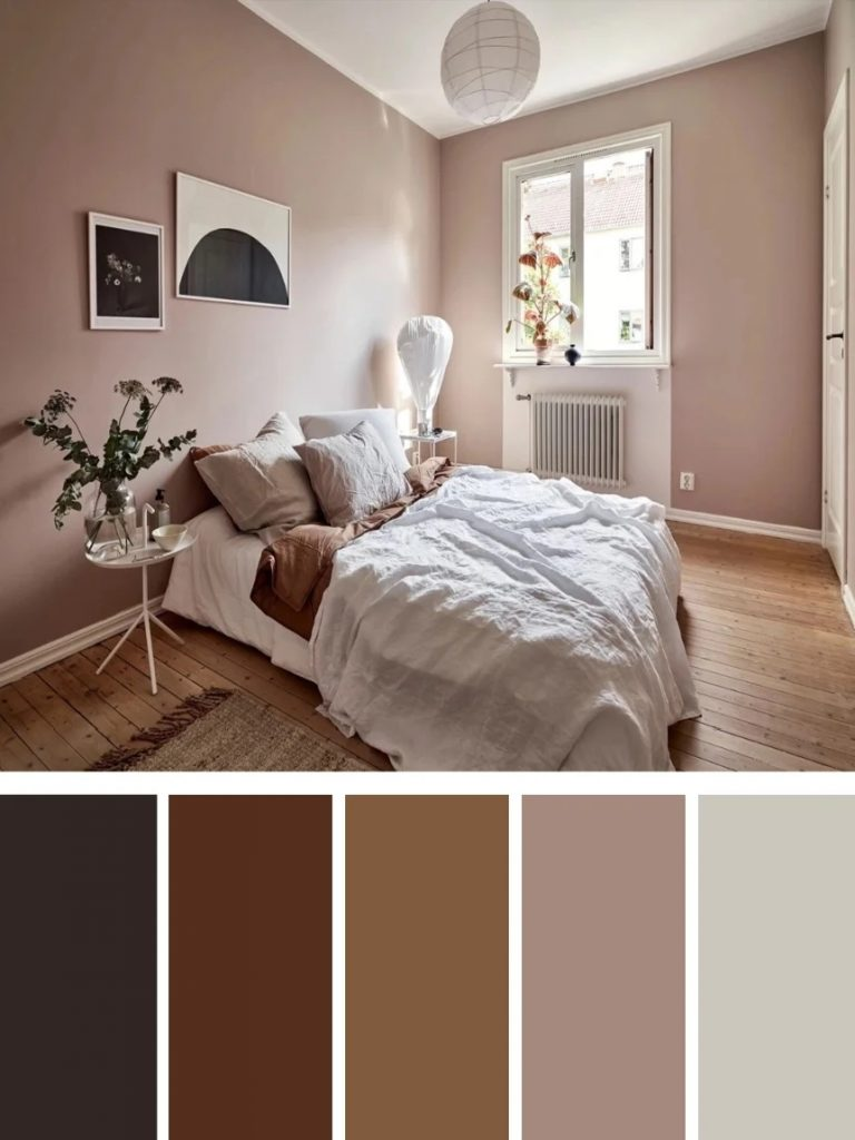 Relaxing And Cozy Bedroom Color Schemes Glorifiv
